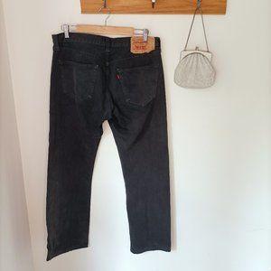 Levi's 501 W 34 L 34 straight leg bootcut jeans